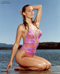 Super-model Molly Sims, as better appreciated by Sports Illustrated in 2004