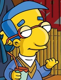 Milhouse looking cool