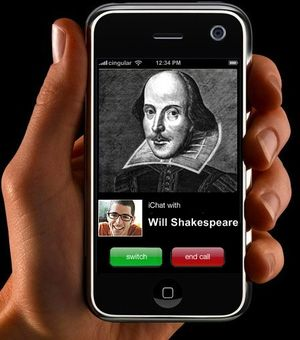 Would Shakespeare have been an Apple fanboy?