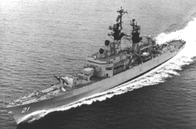 U.S.S. Gridley DLG/CG-21, the 'Gray Ghost of the South China Sea'