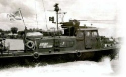A 'Swift Boat' of the sort commanded by Messrs. Kerry and O'Neill