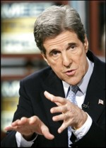 Unsuccessful Democratic presidential nominee Sen. John F. Kerry describes his party's slight mishandling of the Ohio vote manipulation on NBC's 'Meet the Press' yesterday