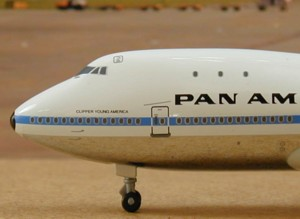 Pan Am's Boeing 747 Jumbo Jet, the 'Clipper Young America'
