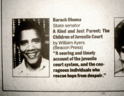 Barack Obama's review of Bill Ayers' book, Chicago Tribune, Dec. 21, 1997