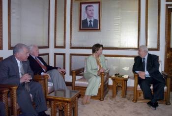 Speaker of the House Nancy Pelosi in Syria