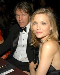 David E. Kelley and wife Michelle Pfeiffer