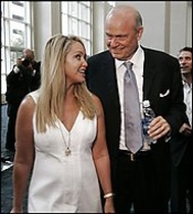 Fred Thompson and wife Jeri Kehn