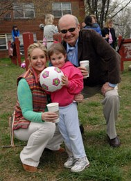 Fred Thompson, Jeri Kehn, and their daughter Heyden Victoria Thompson