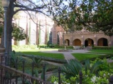 Bishop's Courtyard, Christ Church Cathedral, Houston