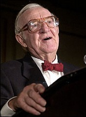 Flashing-eyed Associate Justice John Paul Stevens