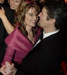 Gov. Palin & husband Todd Palin, a/k/a the 'First Dude,' dancing