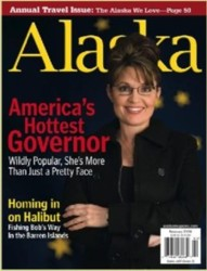 Gov. Palin's cover on Alaska Magazine