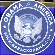 The Great Seal of Obamaland (photo: NYT)