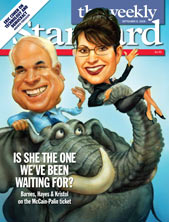 Cover of the upcoming 'Weekly Standard'