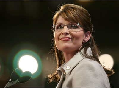 Gov. Palin on Sept. 3 at the RNC