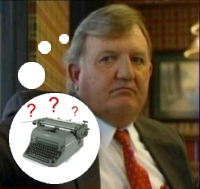 Did CBS News' source Bill Burkett ever wonder about his alleged source's typewriter?